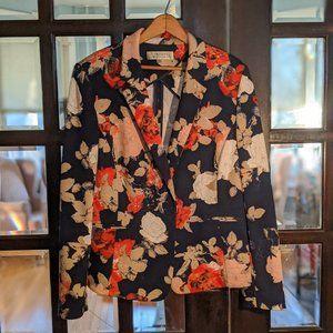 Tahari Floral Print Blazer